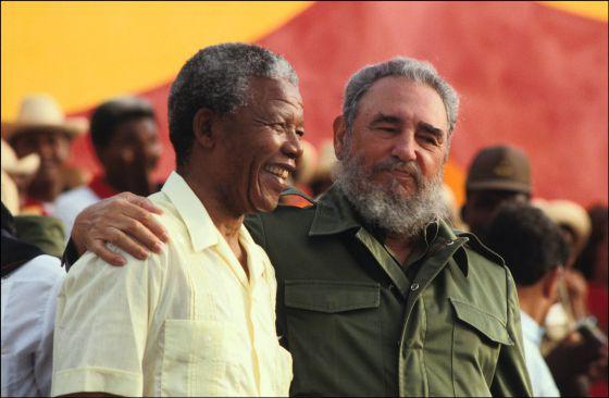 Mandela echó su suerte con los pobres de la tierra